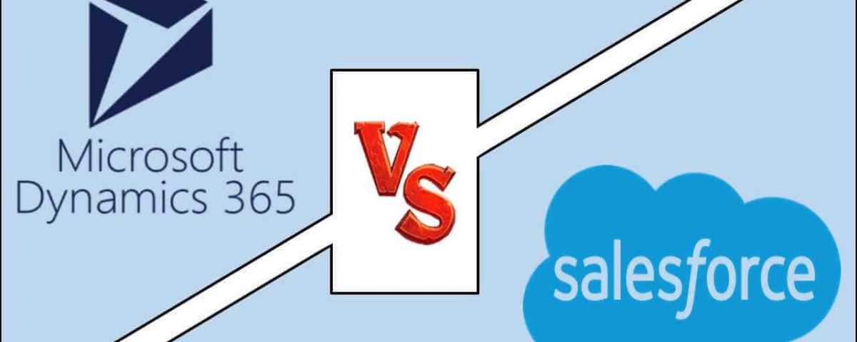 MS Dynamic 365 versus Salesforce