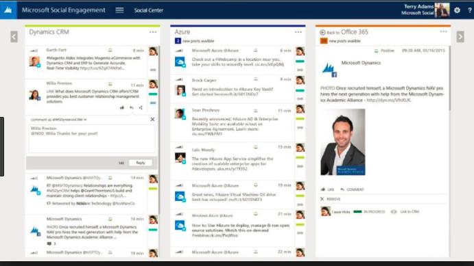 Microsoft social engagement